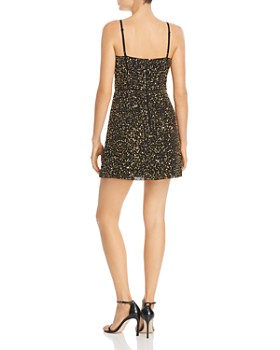 FRENCH CONNECTION - Sweetheart Sequined Mini Slip Dress - 100% Exclusive