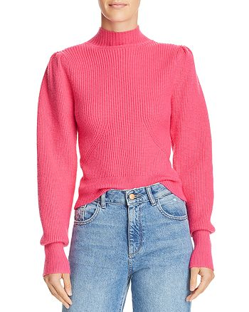 6a188a6d227 ASTR the Label - Puff-Sleeve Sweater