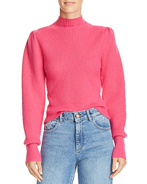 Astr the Label Puff-Sleeve Sweater