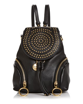 See by Chloé - Olga Medium Studded Leather Backpack