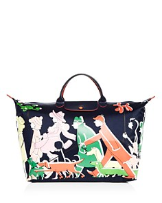 Longchamp - Nylon Weekender Bag