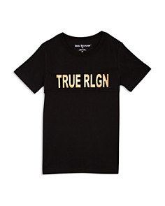 True Religion - Boys' Logo Graphic Tee - Little Kid, Big Kid