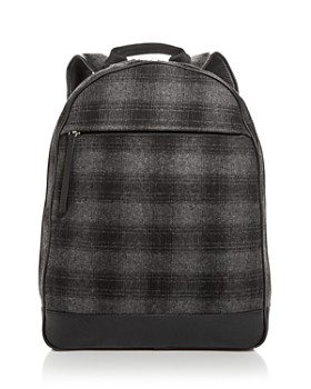 The Men's Store at Bloomingdale's - Plaid Wool Backpack - 100% Exclusive