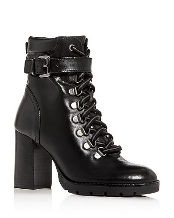 Kenneth Cole - Women's Santiago Block-Heel Booties