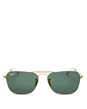 Ray-Ban - Men's Brow Bar Aviator Sunglasses, 58mm
