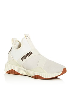 PUMA - Women's Defy Luxe Mid-Top Sneakers