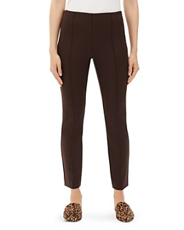 Lafayette 148 New York - Acclaimed Stretch Slim Pintuck City Pants