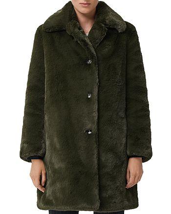 Burberry - Tenbridge Faux-Fur Coat