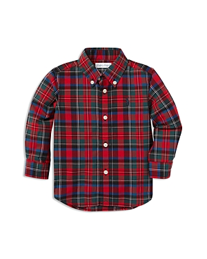 Ralph Lauren Boys' Plaid Cotton Poplin Shirt - Baby