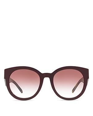 Burberry Round Sunglasses, 54mm
