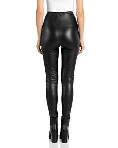 BAGATELLE.NYC - Faux Leather Leggings