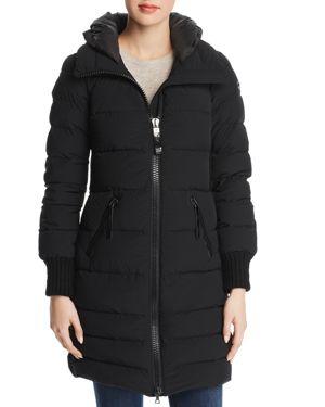 POST CARD Skilbrum Down Coat in Black