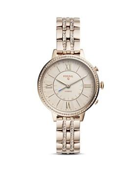 Fossil - Q Jacqueline Pink & Beige Hybrid Smartwatch, 36mm