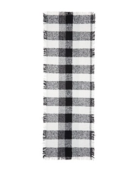 Echo - Lightweight Check Scarf