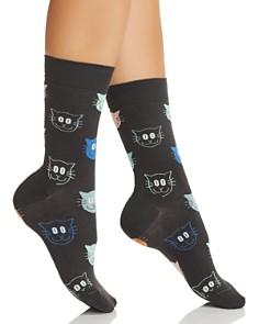 Happy Socks - Cat Crew Socks
