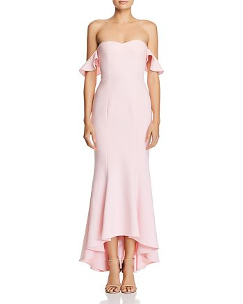 5bd8c07acd9a LIKELY - Sunset Off-the-Shoulder Gown
