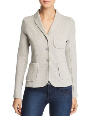 Marled Knit Blazer by Majestic Filatures