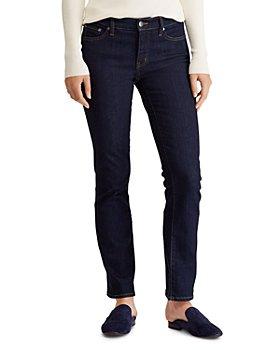 Ralph Lauren - Modern Straight Curvy Jeans in Dark Rinse