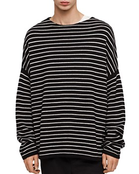 ALLSAINTS - Marty Striped Crewneck Sweater