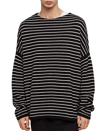 ALLSAINTS - Marty Striped Crewneck Sweater