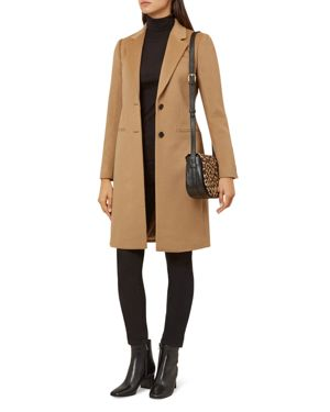 Tilda Wool Coat, Camel