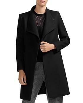Maje - Galipo Asymmetric-Front Coat