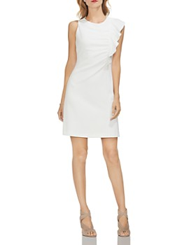 VINCE CAMUTO - Asymmetric Ruffle-Detail Dress