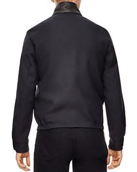 Sandro -  Icon Leather-Collar Jacket