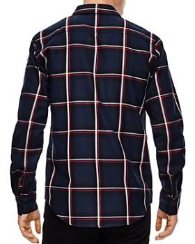 Sandro - Tartan Plaid Slim Fit Button-Down Shirt