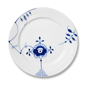 "Royal Copenhagen - ""Blue Fluted Mega"" Dinner Plate #6"