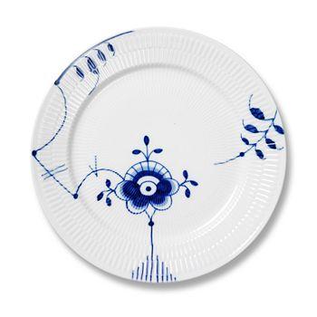 """Royal Copenhagen - """"Blue Fluted Mega"""" Dinner Plate #6"""