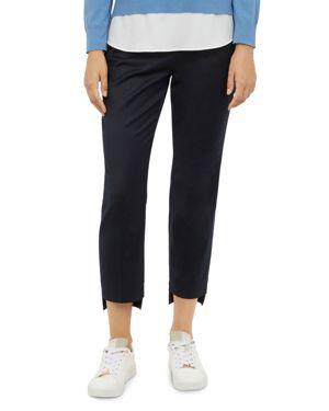 Rivaat Step-Hem Slim Pants in Dark Blue