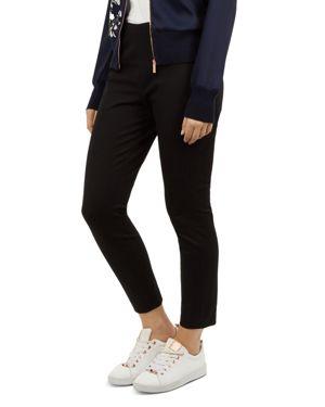Cemelia Skinny Trousers in Black