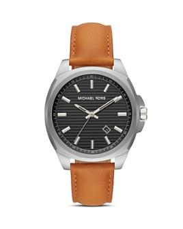 Michael Kors - Bryson Black Dial Watch, 42mm