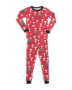 BedHead - Unisex Printed Holiday Pajama Shirt & Pants Set - Little Kid