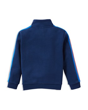 Lacoste - Boys' Zip-Up Fleece Track Sweater - Little Kid, Big Kid