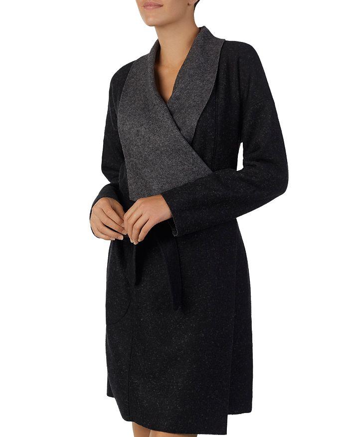 Donna Karan - Short Felt Robe