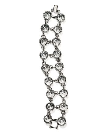 AQUA - Two Row Crystal Bracelet - 100% Exclusive