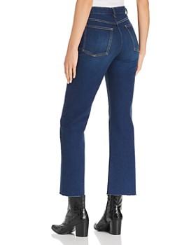 rag & bone/JEAN - Justine Cropped Wide-Leg Jeans in Gem