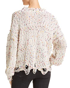 Honey Punch - Dotted Chenille Sweater