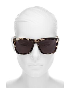 Illesteva - Women's Los Feliz Square Sunglasses, 55mm