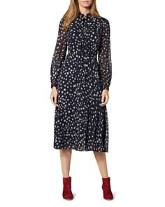 L.K.Bennett - Filia Silk Star-Print Dress