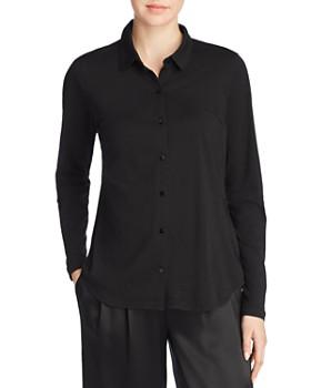 Eileen Fisher - Organic Cotton Classic Collar Shirt
