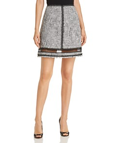 Elie Tahari - Cochi Tweed Skirt