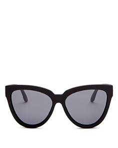 Le Specs - Women's Polarized Cat Eye Sunglasses, 57mm
