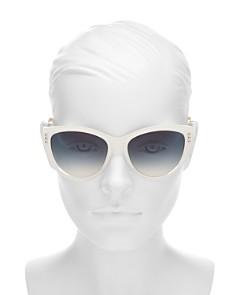 Moschino - Women's Cat Eye Sunglasses, 56mm