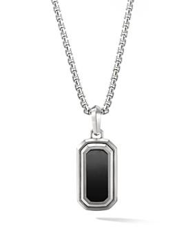 David Yurman - Deco Amulet with Black Onyx