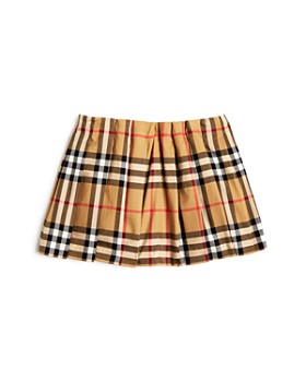 Burberry - Girls' Mini Pearl Vintage Check Pleated Skirt - Baby