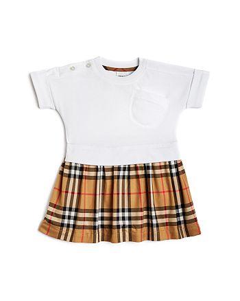 Burberry - Girls' Ruby Vintage Check Skirt  Dress - Baby
