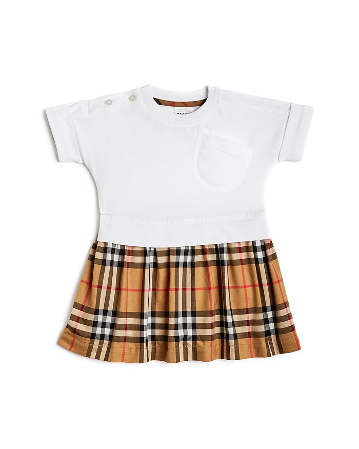 Burberry - Girls' Ruby Vintage Check Skirt  Dress - Baby